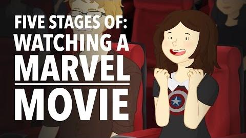 Five Stages of Watching A Marvel Movie - HISHE Features OnlyLeigh