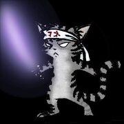 Gato con espada