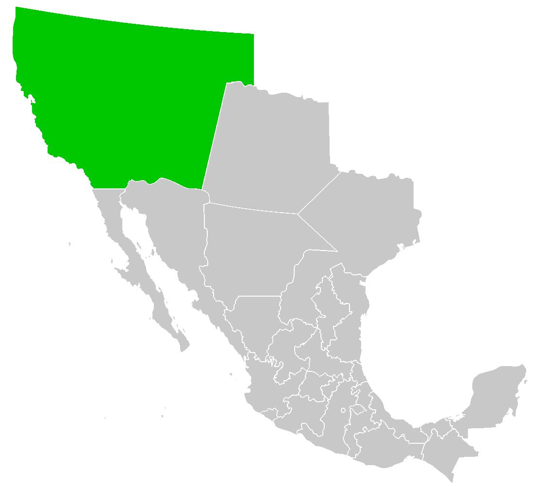 Alta California Map Alta California | Historical Nations Wiki | FANDOM powered by Wikia