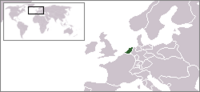 Locatie Bataafse Republiek