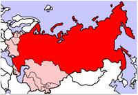 Russian SFSR map