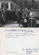 Id.dr.AntallJózsef dedikált képe Zdzisławnak-látog.Zalaszentgróti táborban
