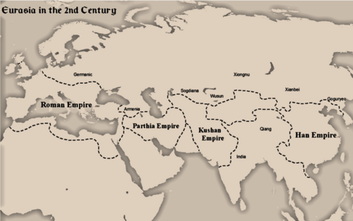 Eurasia in 2nd Century