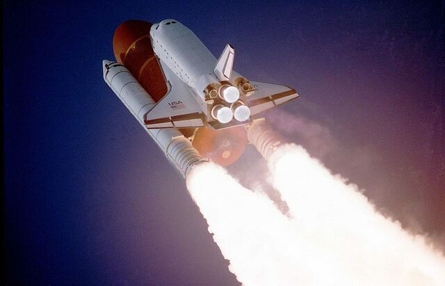 File:Atlantis taking off on STS-27.jpg