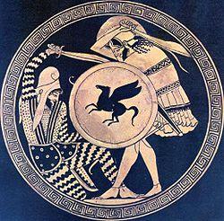 Greek-Persian duel