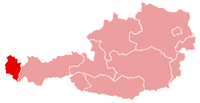 Karte oesterreich vorarlberg