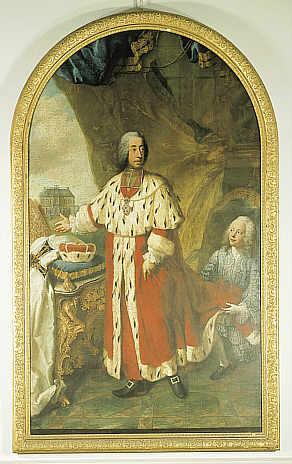 Clemens Augustus of Bavaria by Georges Desmarées