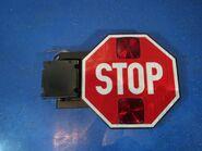Electric stop arm