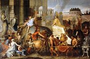 416px-Charles Le Brun - Entry of Alexander into Babylon