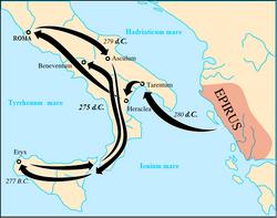 Кампания Пирра в Италии