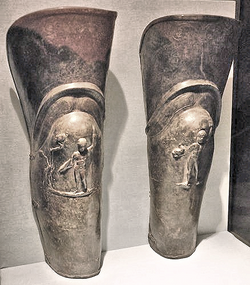 Gladiator shin guards