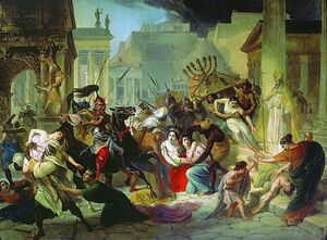 Genseric sacking Rome 455