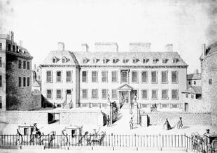 Leicester House in 1748