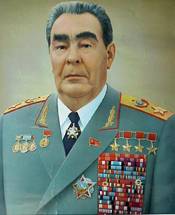 Leonid Brezhnev as Marshal