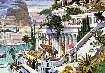 350px-Hanging Gardens of Babylon