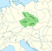 Karte Böhmische Krone