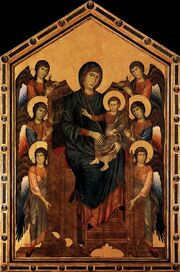 Madonna with Child-Cimabue