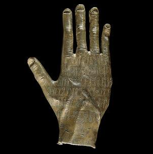 Arabian-bronze-hand
