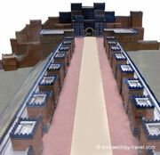 Ishtar-gate-pocessional-way-model1
