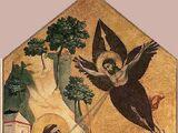 St. Francis receiving the Stigmata