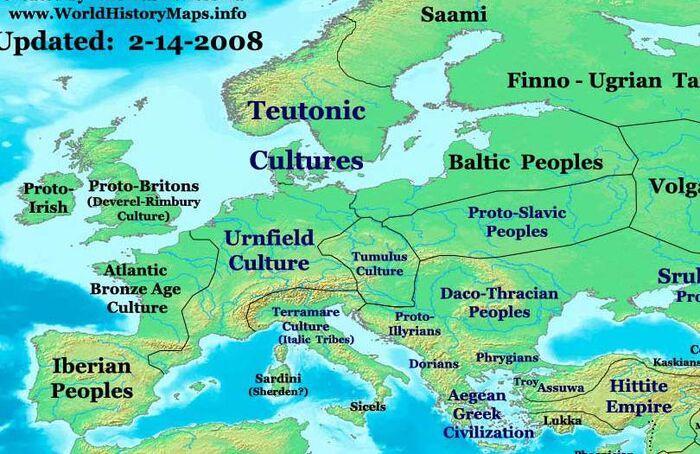Europe-1300bc