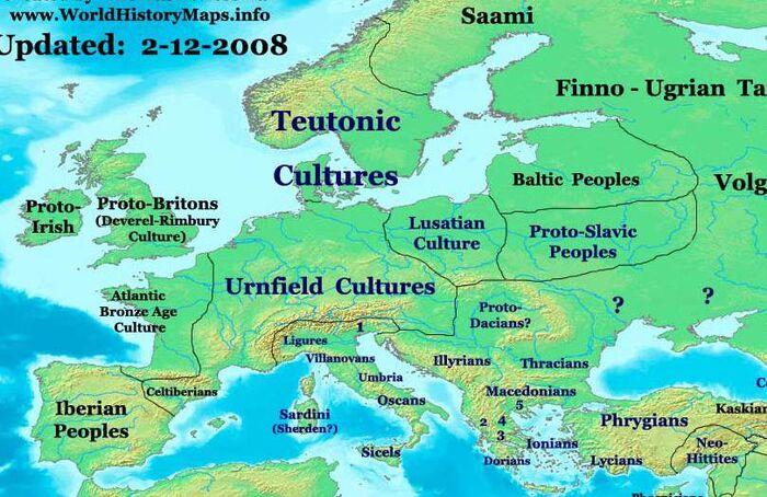 Europe-1000bc