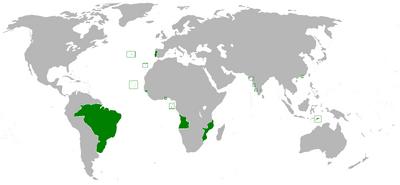 Portuguese empire 1800