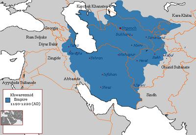 Khwarezmian Empire 1190 - 1220 (AD)