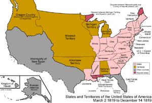 United States 1819-03-1819-12