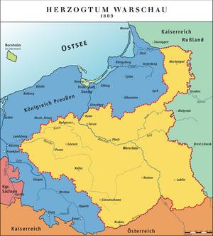 Duchy of Warsaw-1809