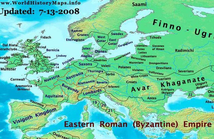 Europe-600ad