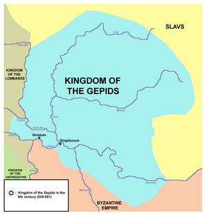 Gepid kingdom-539-551