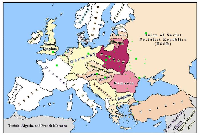 Europe-1929-1939