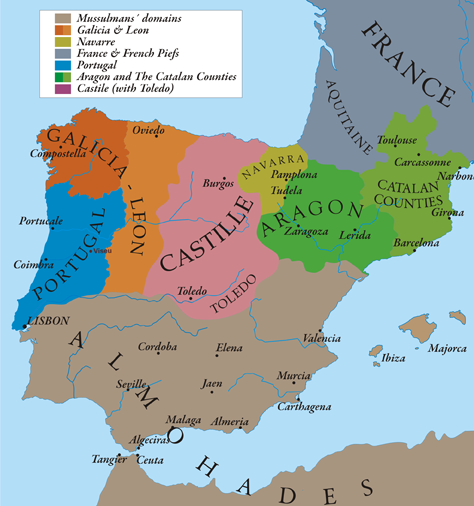 Image   Iberian Peninsula 1210.png | Wiki Atlas of World History