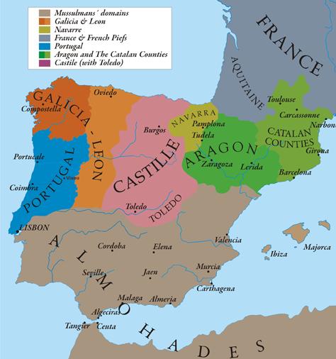 Image iberian peninsula 1210g wiki atlas of world history iberian peninsula 1210g gumiabroncs Images