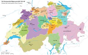 Switzerland 1814-1847