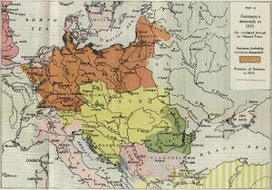 German empire-1915