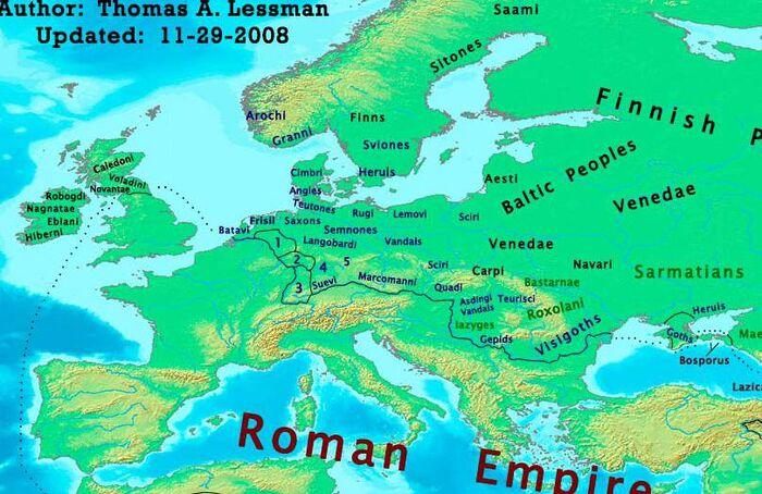 Europe-300ad