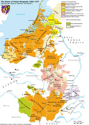 House of Valois-Burgundy-1477