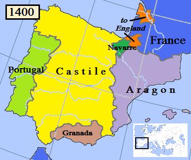 Image - Kingdom of Navarre-1400.png | Wiki Atlas of World History ...