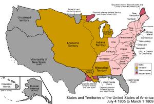 United States 1805-07-1809