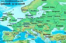 Europe-1100ad