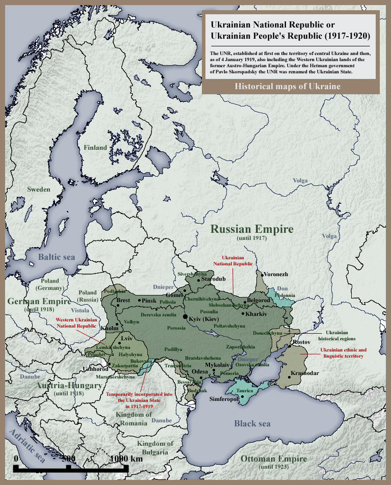 Ukrainian Peoples Republic Wiki Atlas Of World History Wiki - Peoples republic map
