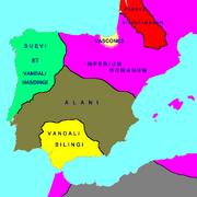 Hispania 418 AD