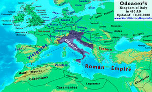 Kingdom of Italy-480 AD