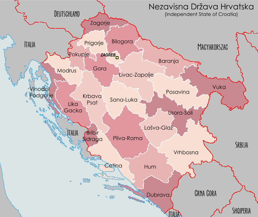 Image independent state of croatiag wiki atlas of world independent state of croatiag gumiabroncs Image collections