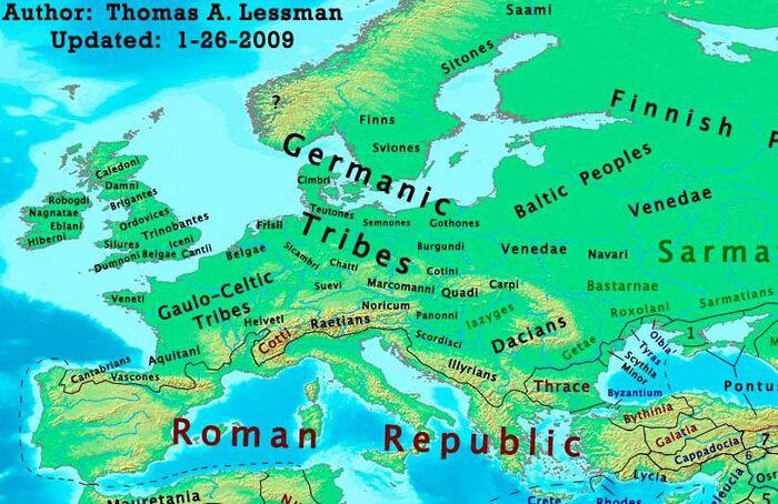 Europe-100bc