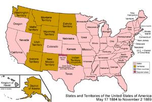 United States 1884-1889-11-02