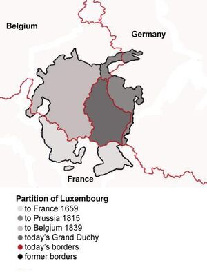 Luxembourg-Partitions