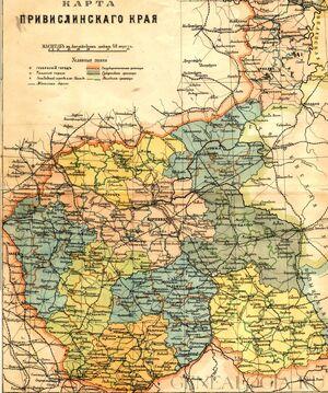Vistula land-19th century